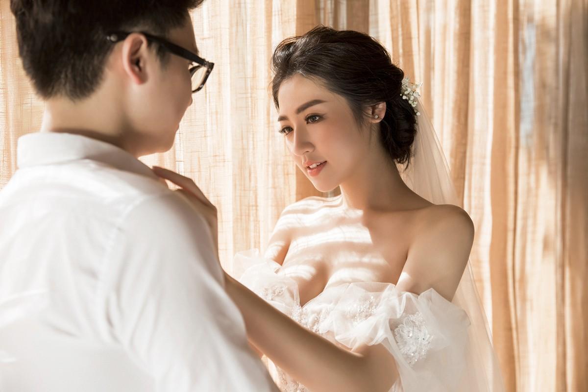 Trước ngày cưới 2 ngày, Á hậu Tú Anh khoe loạt ảnh cưới sang chảnh ngoài biển - Ảnh 11.