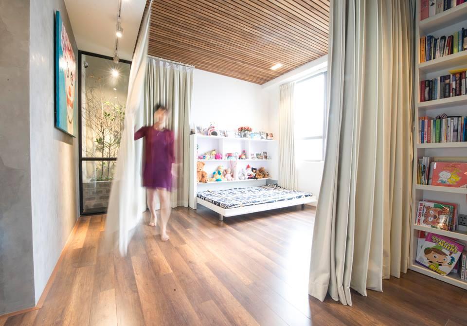 Sau cải tạo, căn hộ 68m² ở Hà Nội này đã trở thành không gian sống kiểu mẫu của nhiều gia đình trẻ - Ảnh 9.