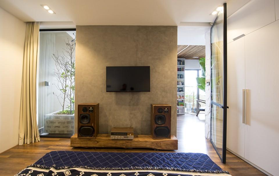 Sau cải tạo, căn hộ 68m² ở Hà Nội này đã trở thành không gian sống kiểu mẫu của nhiều gia đình trẻ - Ảnh 12.