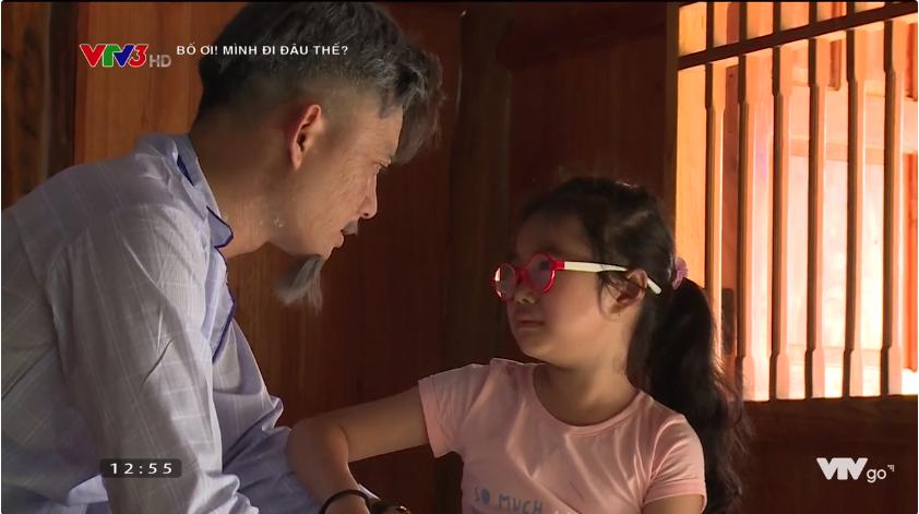 Bố ơi: Nguyễn Hải Phong mặt méo xệch khi bị lừa chạm vào... con ếch - Ảnh 6.