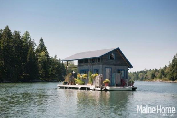 Dành 10 năm xây túp lều tranh nổi trên mặt nước, cặp vợ chồng định cho thuê nhưng vì nhà xinh quá nên đổi ý dọn vào sống - Ảnh 2.