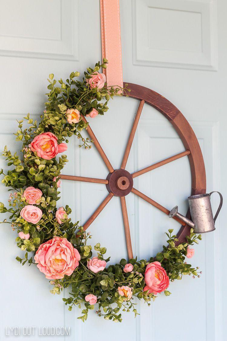 9 cách tận dụng đồ cũ làm hoa treo vừa xinh đẹp vừa tiết kiệm để trang trí trước cửa nhà   - Ảnh 6.