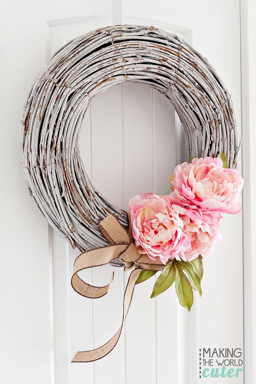 9 cách tận dụng đồ cũ làm hoa treo vừa xinh đẹp vừa tiết kiệm để trang trí trước cửa nhà   - Ảnh 7.