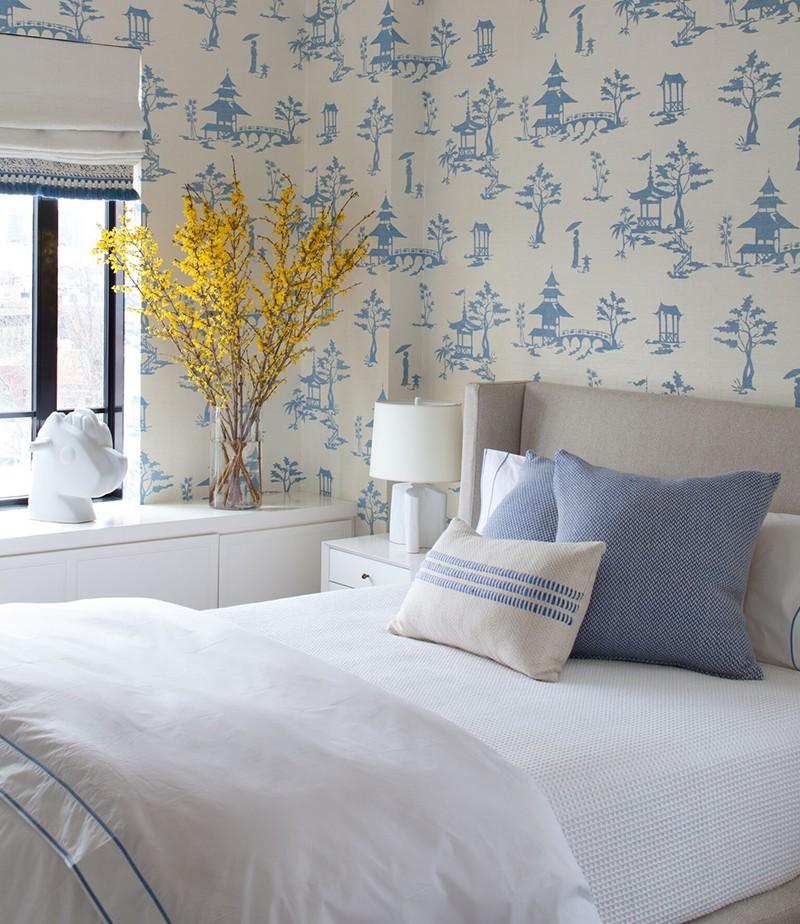 Những mẫu giấy dán tường siêu ấn tượng để bạn lựa chọn cho phòng ngủ gia đình - Ảnh 8.