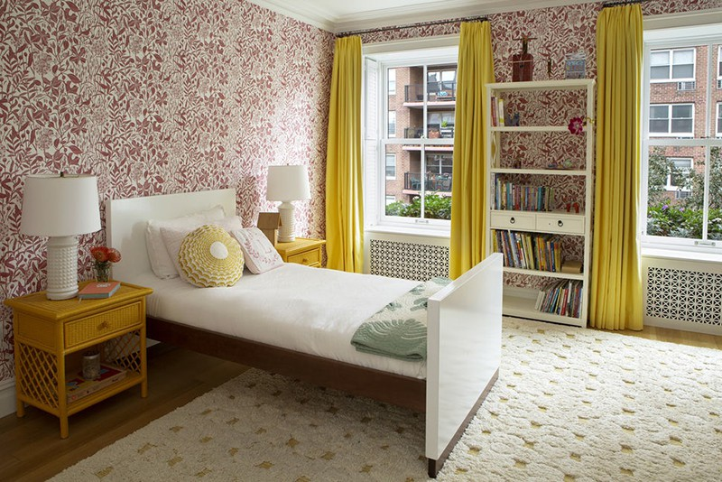 Những mẫu giấy dán tường siêu ấn tượng để bạn lựa chọn cho phòng ngủ gia đình - Ảnh 12.