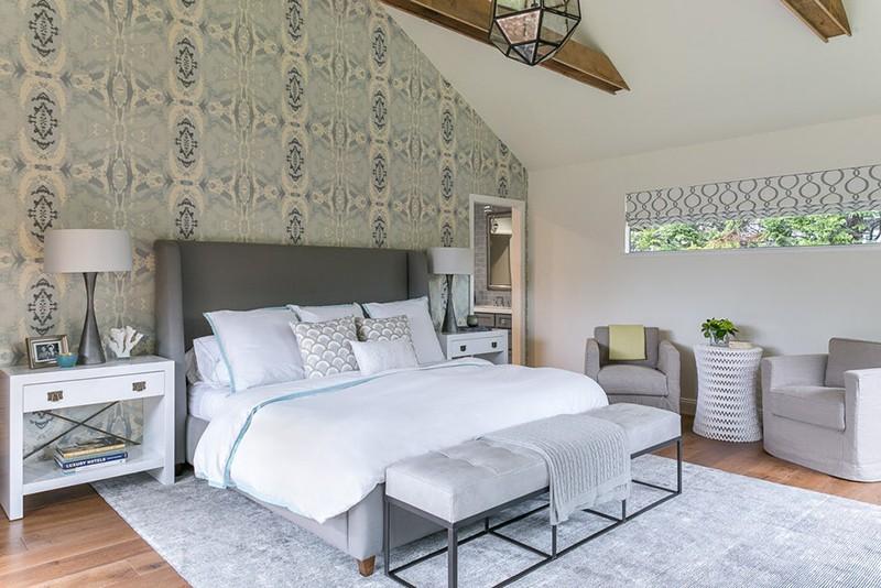 Những mẫu giấy dán tường siêu ấn tượng để bạn lựa chọn cho phòng ngủ gia đình - Ảnh 13.