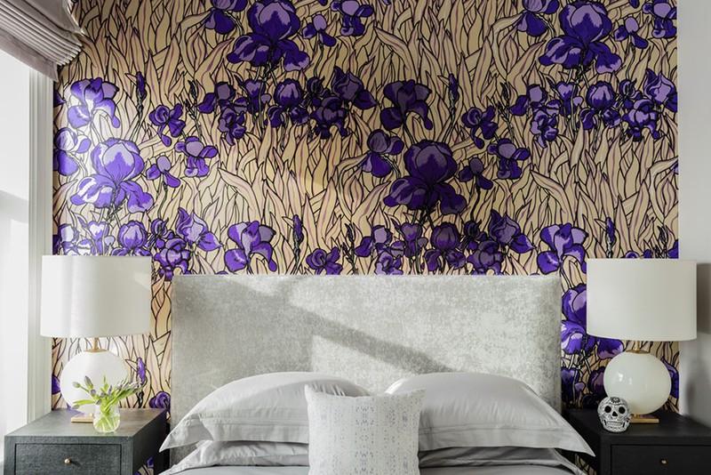 Những mẫu giấy dán tường siêu ấn tượng để bạn lựa chọn cho phòng ngủ gia đình - Ảnh 17.