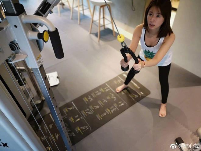 Đua với Triệu Vy, Lâm Tâm Như quyết tâm tập luyện và ăn uống healthy để sở hữu vóc dáng đẹp - Ảnh 3.