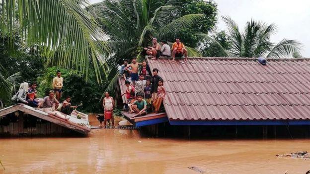 Vỡ đập thủy điện ở Lào: Ít nhất 20 người thiệt mạng và hàng trăm người vẫn mất tích - Ảnh 1.