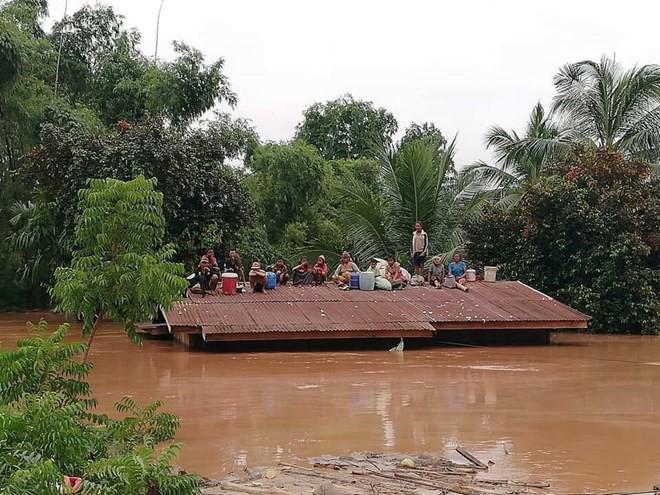 Xác định nguyên nhân ban đầu vụ vỡ đập thủy điện tại Lào - Ảnh 1.