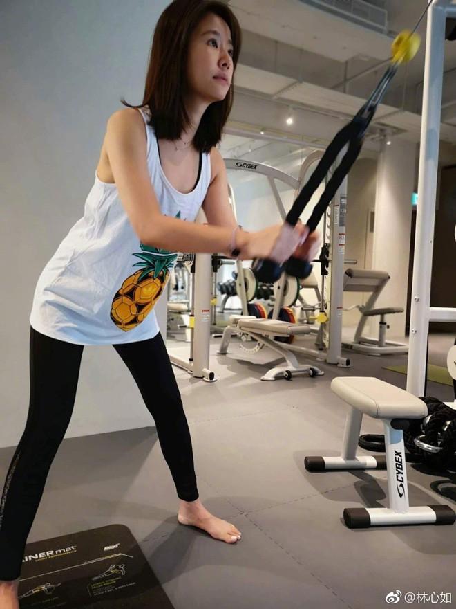 Đua với Triệu Vy, Lâm Tâm Như quyết tâm tập luyện và ăn uống healthy để sở hữu vóc dáng đẹp - Ảnh 5.