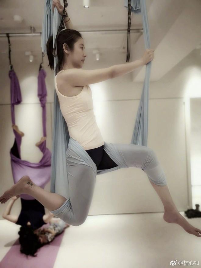 Đua với Triệu Vy, Lâm Tâm Như quyết tâm tập luyện và ăn uống healthy để sở hữu vóc dáng đẹp - Ảnh 6.