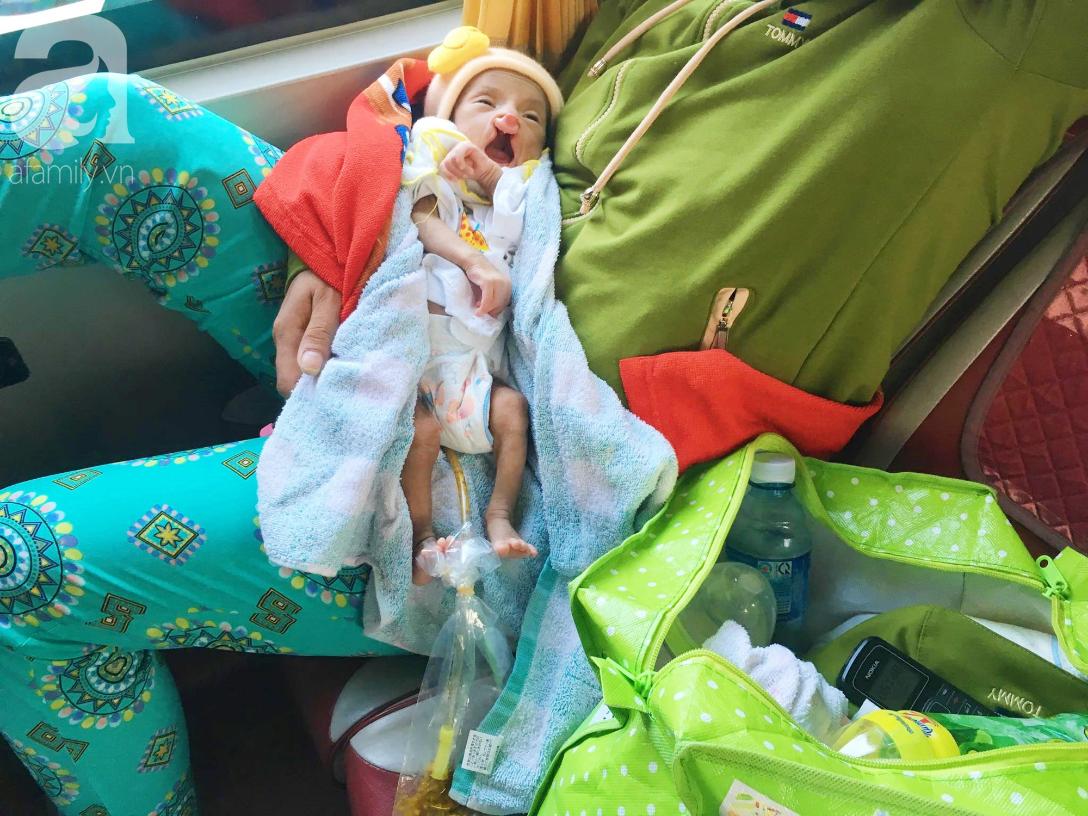 Xót cảnh bé trai 2 tháng tuổi suy dinh dưỡng, nặng chỉ 2 ký mà mẹ nghèo không đủ tiền đưa lên Sài Gòn chữa bệnh - Ảnh 6.