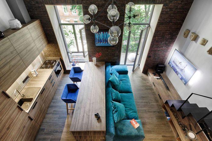 Chỉ nhờ 1 bí quyết, căn phòng 35m² trở thành căn hộ nhỏ có không gian thoáng đãng và lôi cuốn đến khó tin - Ảnh 1.