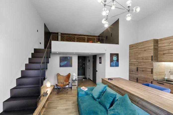 Chỉ nhờ 1 bí quyết, căn phòng 35m² trở thành căn hộ nhỏ có không gian thoáng đãng và lôi cuốn đến khó tin - Ảnh 4.