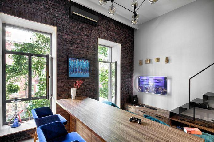 Chỉ nhờ 1 bí quyết, căn phòng 35m² trở thành căn hộ nhỏ có không gian thoáng đãng và lôi cuốn đến khó tin - Ảnh 5.