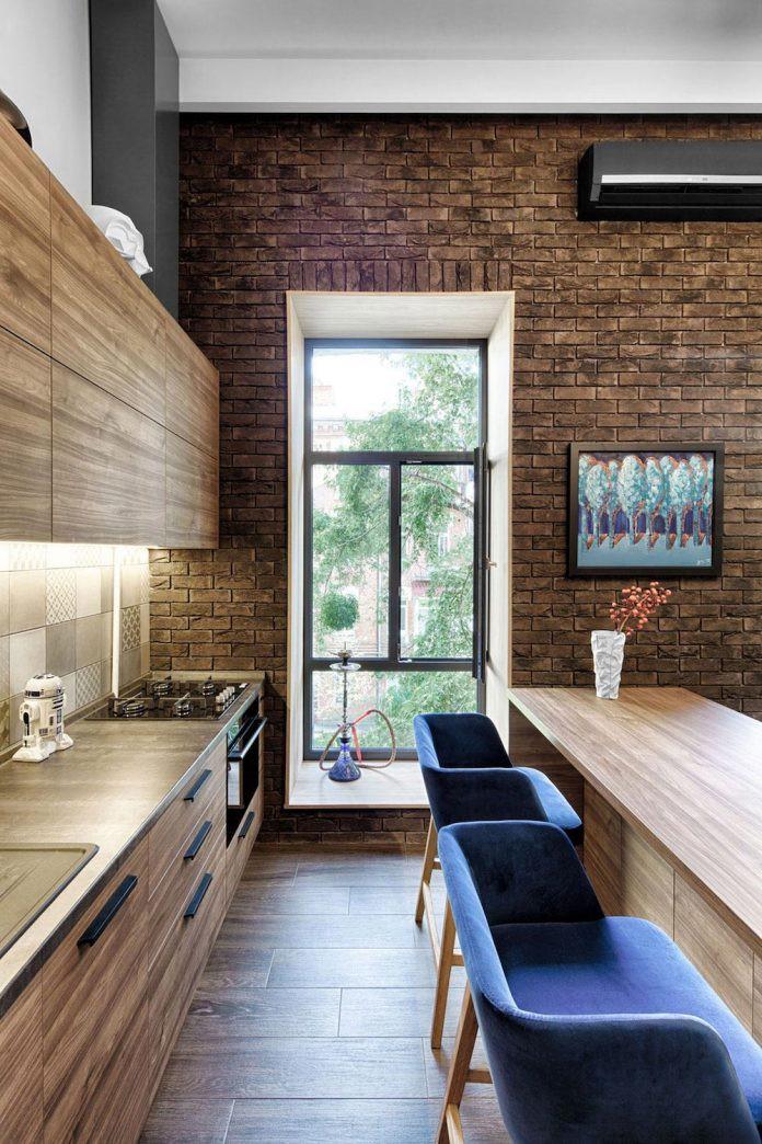 Chỉ nhờ 1 bí quyết, căn phòng 35m² trở thành căn hộ nhỏ có không gian thoáng đãng và lôi cuốn đến khó tin - Ảnh 6.