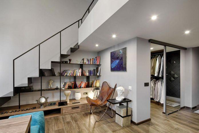 Chỉ nhờ 1 bí quyết, căn phòng 35m² trở thành căn hộ nhỏ có không gian thoáng đãng và lôi cuốn đến khó tin - Ảnh 7.