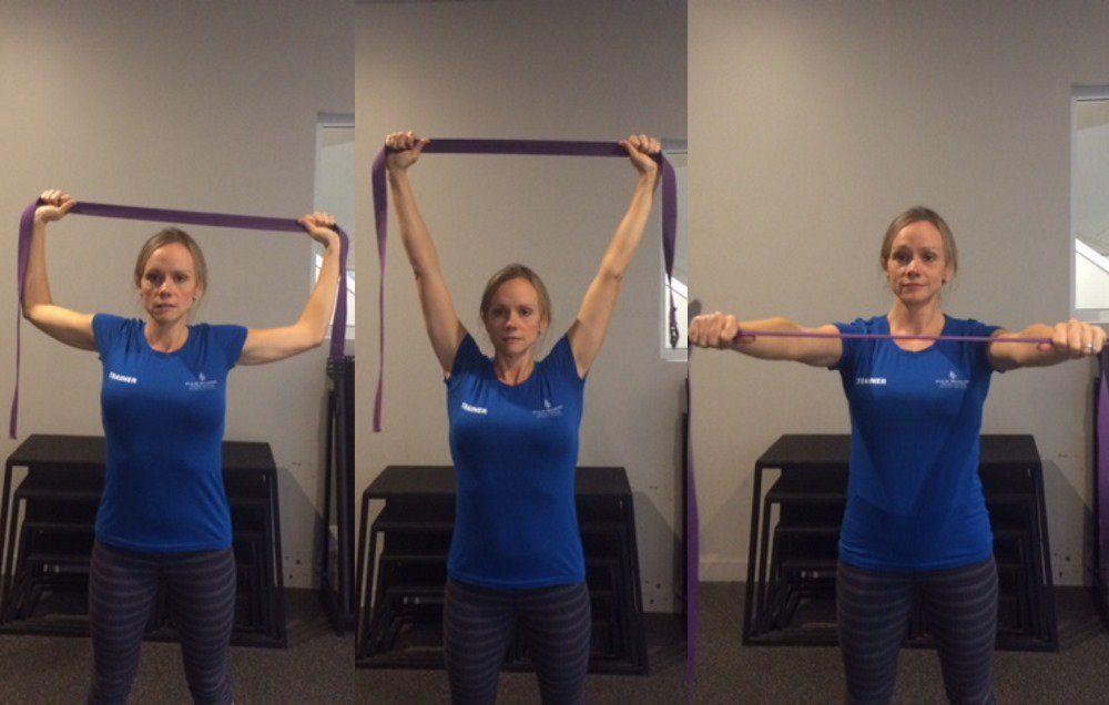 Dân văn phòng cần tập ngay 7 bài tập này để nhanh chóng giúp vai bớt đau vai và không bị gù lưng - Ảnh 4.