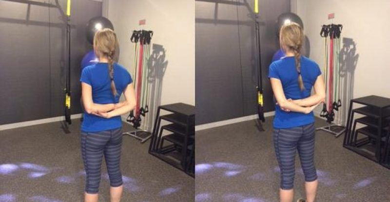 Dân văn phòng cần tập ngay 7 bài tập này để nhanh chóng giúp vai bớt đau vai và không bị gù lưng - Ảnh 5.