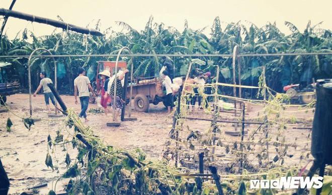 Ảnh: Cảnh hoang tàn tại nơi ở của người Việt sau thảm họa vỡ đập thủy điện ở Lào - Ảnh 3.