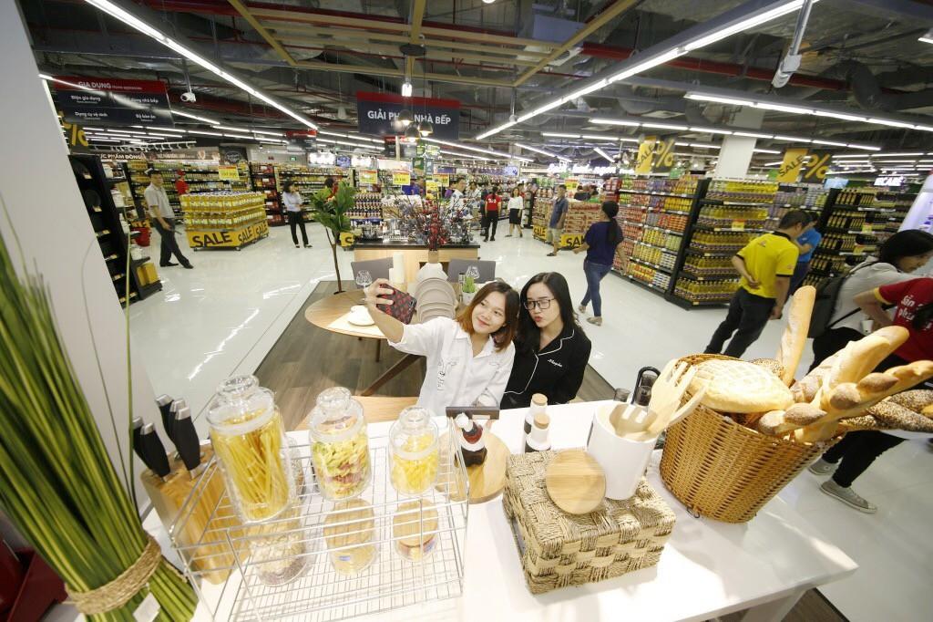 VinMart trong tòa nhà cao nhất Việt Nam: Khi siêu thị không chỉ đẹp, tiện lợi mà còn là sân chơi cho cả gia đình - Ảnh 14.
