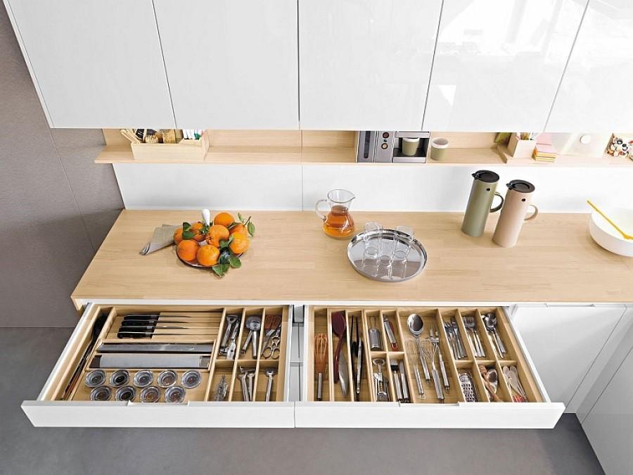 Muốn tủ bếp lúc nào cũng gọn gàng, ngăn nắp hãy tham khảo ngay những thiết kế lưu trữ đồ dùng làm bếp này - Ảnh 9.