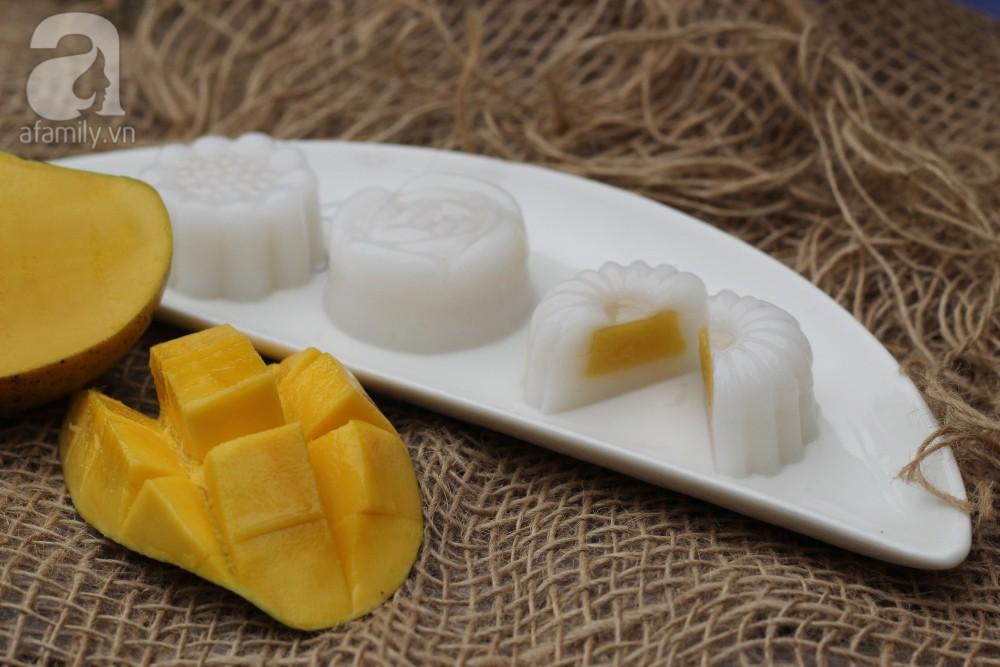Bí quyết làm món thạch dừa xoài thơm ngon ai ăn cũng mê - Ảnh 1.