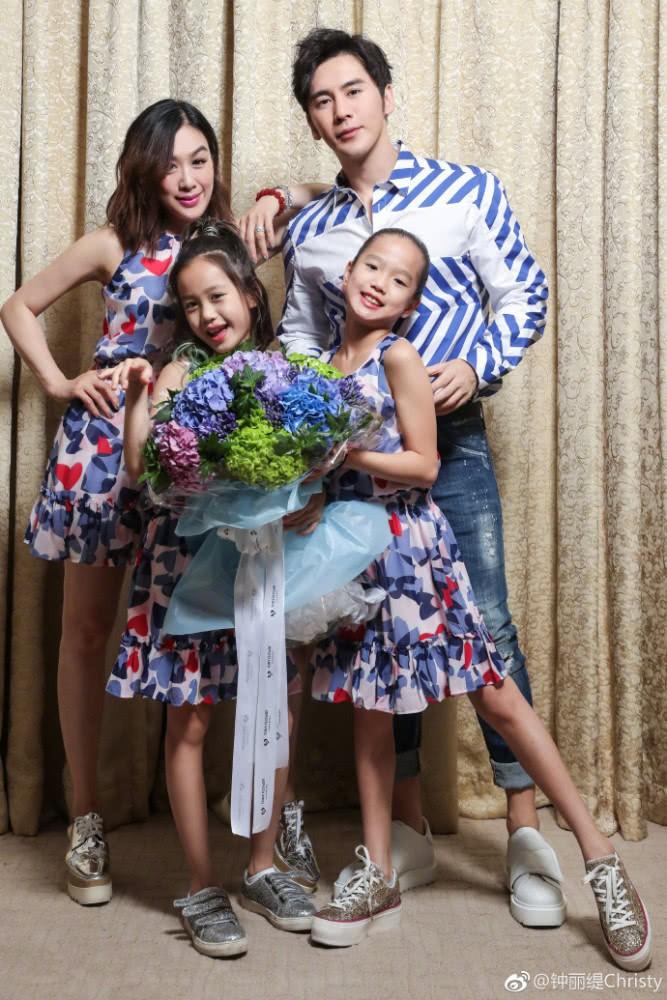 """Hai cô con gái riêng của """"Quả bom sex gốc Việt"""" Chung Lệ Đề thân thiết bên bố dượng trong ngày sinh nhật - Ảnh 3."""