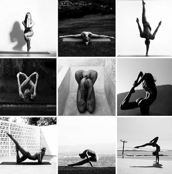 Chia sẻ của người đẹp tập yoga khỏa thân đang gây sốt trên mạng xã hội và thông điệp tuyệt vời mà cô muốn truyền tải - Ảnh 1.