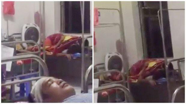 Sốc với đôi nam nữ vô tư trùm chăn ôm nhau, mây mưa ngay trên giường bệnh viện giữa bốn bề bệnh nhân - Ảnh 4.