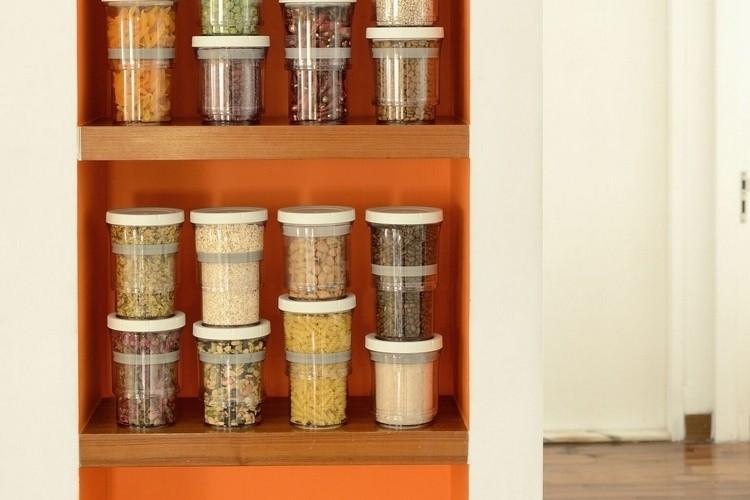 Quên ngay lọ nhựa đi, bếp giờ phải có hộp đựng thu ngắn kéo dài mới sành điệu - Ảnh 6.
