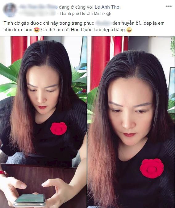 Vừa để lộ nhan sắc thật già nua, Anh Thơ vợ diễn viên Bình Minh lại vướng nghi án gọt cằm nhọn hoắt - Ảnh 7.