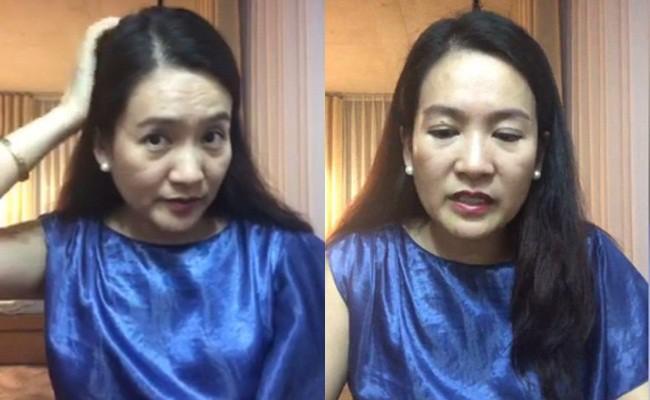 Vừa để lộ nhan sắc thật già nua, Anh Thơ vợ diễn viên Bình Minh lại vướng nghi án gọt cằm nhọn hoắt - Ảnh 4.