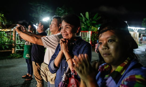 Đội bóng Thái mắc kẹt: thêm 4 cậu bé được đưa ra ngoài, khép lại ngày giải cứu thứ 2  - Ảnh 29.