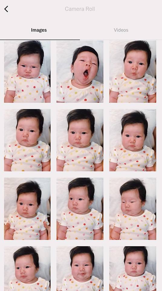 Con gái lai Tây 1 tháng tuổi của siêu mẫu Hà Anh  gây sốt với biểu cảm 50 sắc thái đáng yêu trong buổi chụp ảnh hộ chiếu - Ảnh 1.