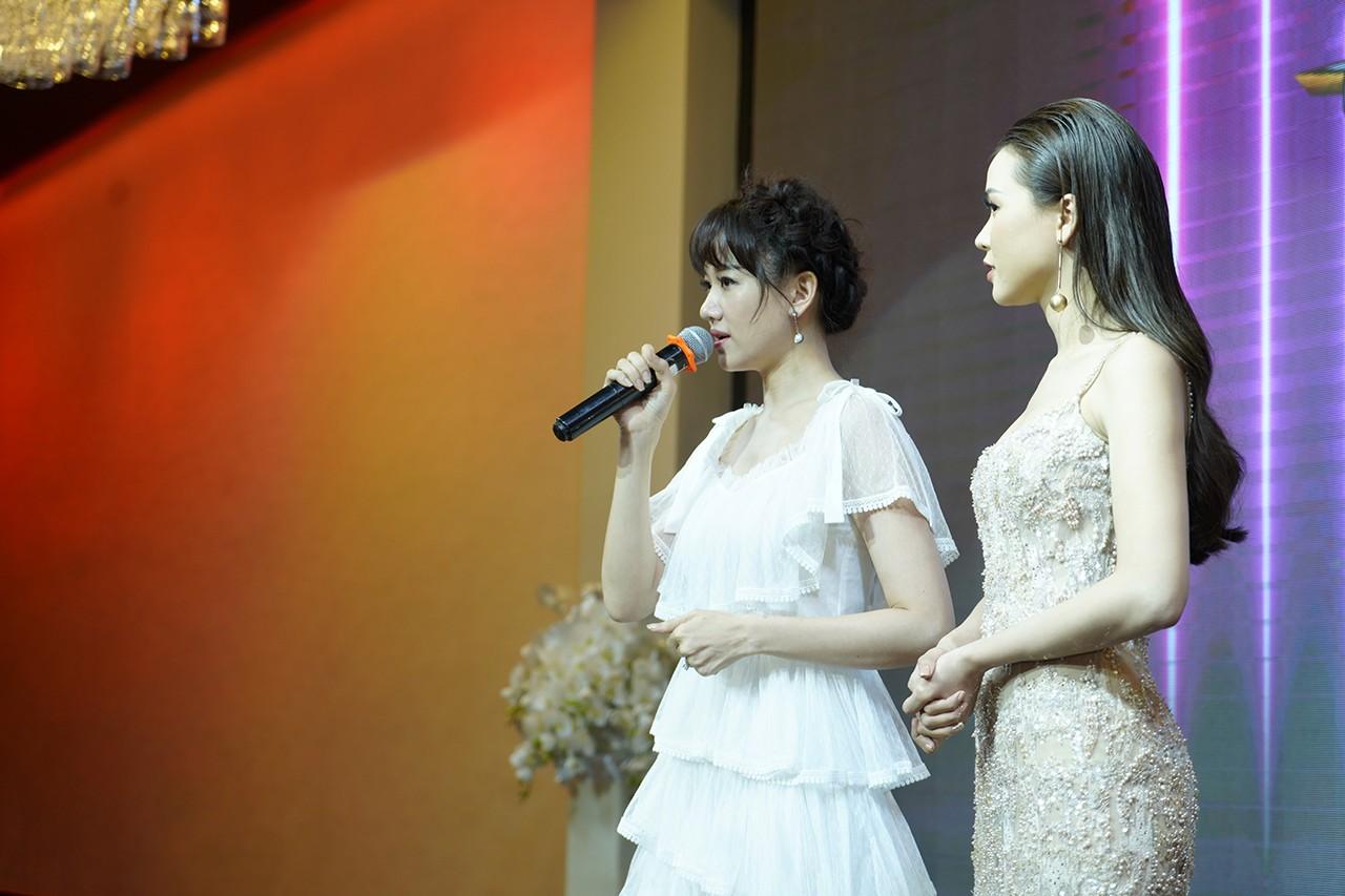 Hari Won hé lộ lý do làm MC chung với Trấn Thành dù nói tiếng Việt không tốt - Ảnh 4.