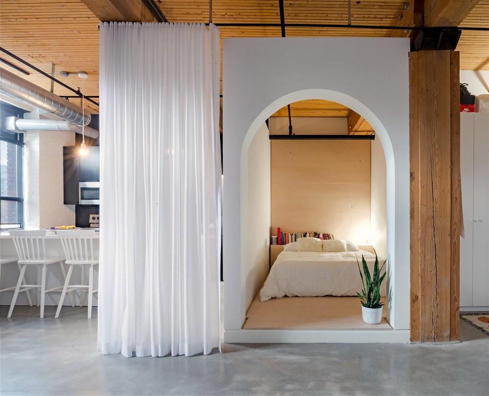 """10 thiết kế phòng ngủ dưới đây sẽ cho bạn thấy dù nhà bạn có chật thế nào, kiến trúc sư vẫn """"xơi tái"""" được hết - Ảnh 10."""