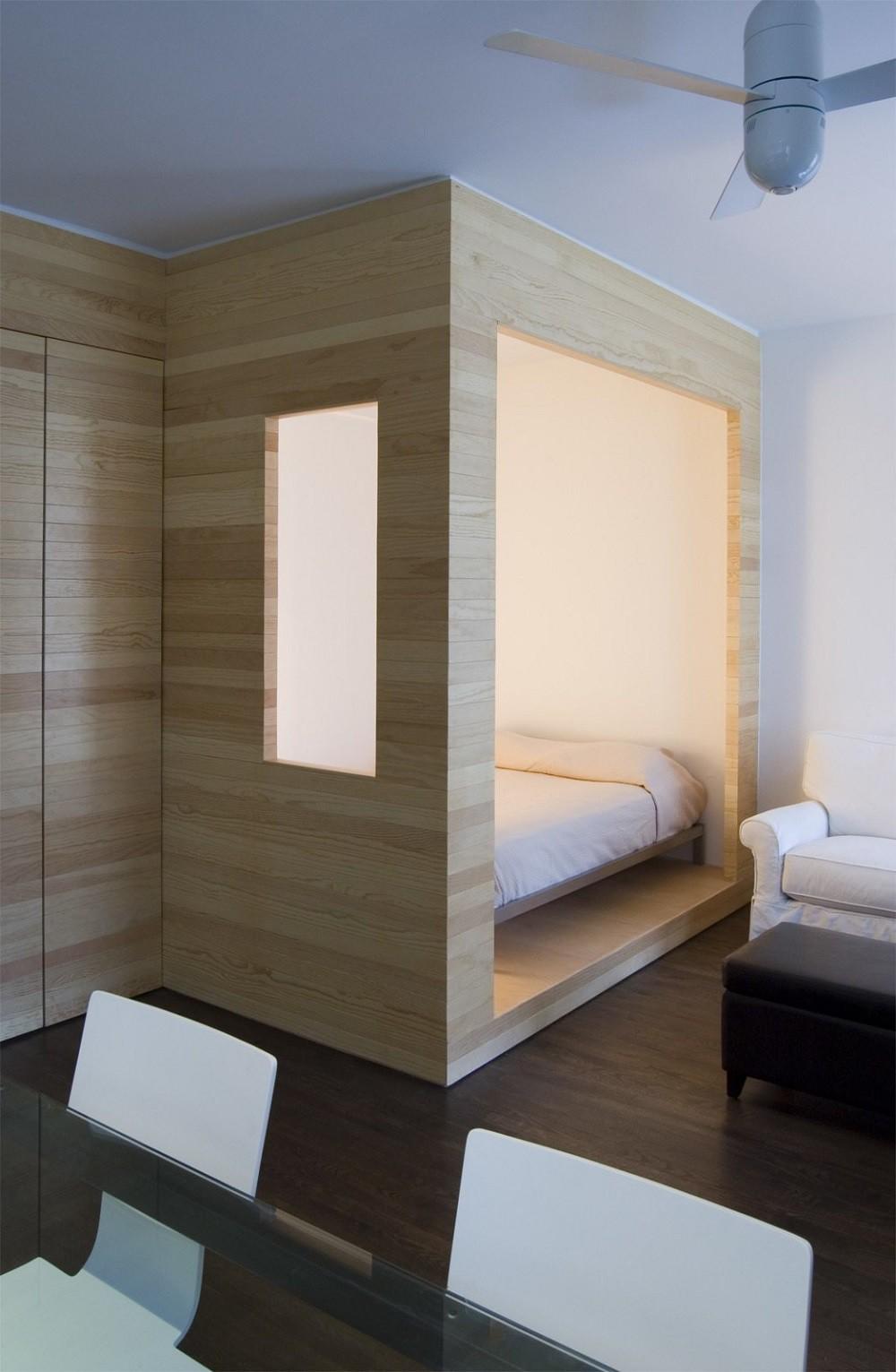 """10 thiết kế phòng ngủ dưới đây sẽ cho bạn thấy dù nhà bạn có chật thế nào, kiến trúc sư vẫn """"xơi tái"""" được hết - Ảnh 3."""