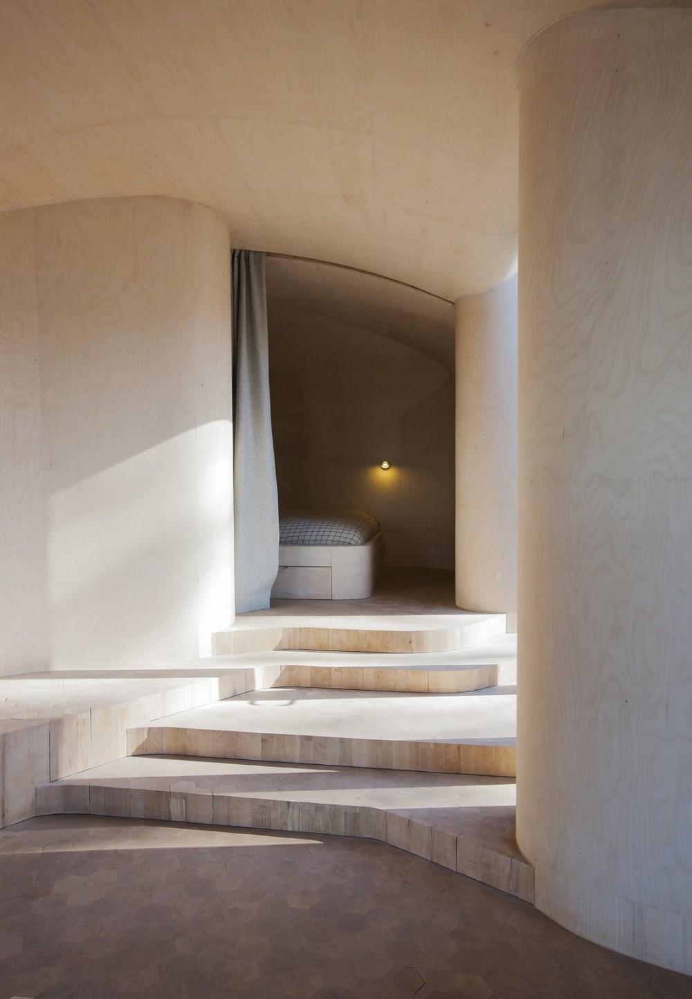 """10 thiết kế phòng ngủ dưới đây sẽ cho bạn thấy dù nhà bạn có chật thế nào, kiến trúc sư vẫn """"xơi tái"""" được hết - Ảnh 4."""