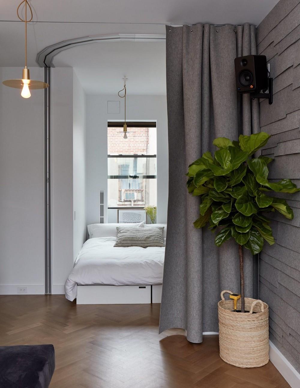 """10 thiết kế phòng ngủ dưới đây sẽ cho bạn thấy dù nhà bạn có chật thế nào, kiến trúc sư vẫn """"xơi tái"""" được hết - Ảnh 5."""