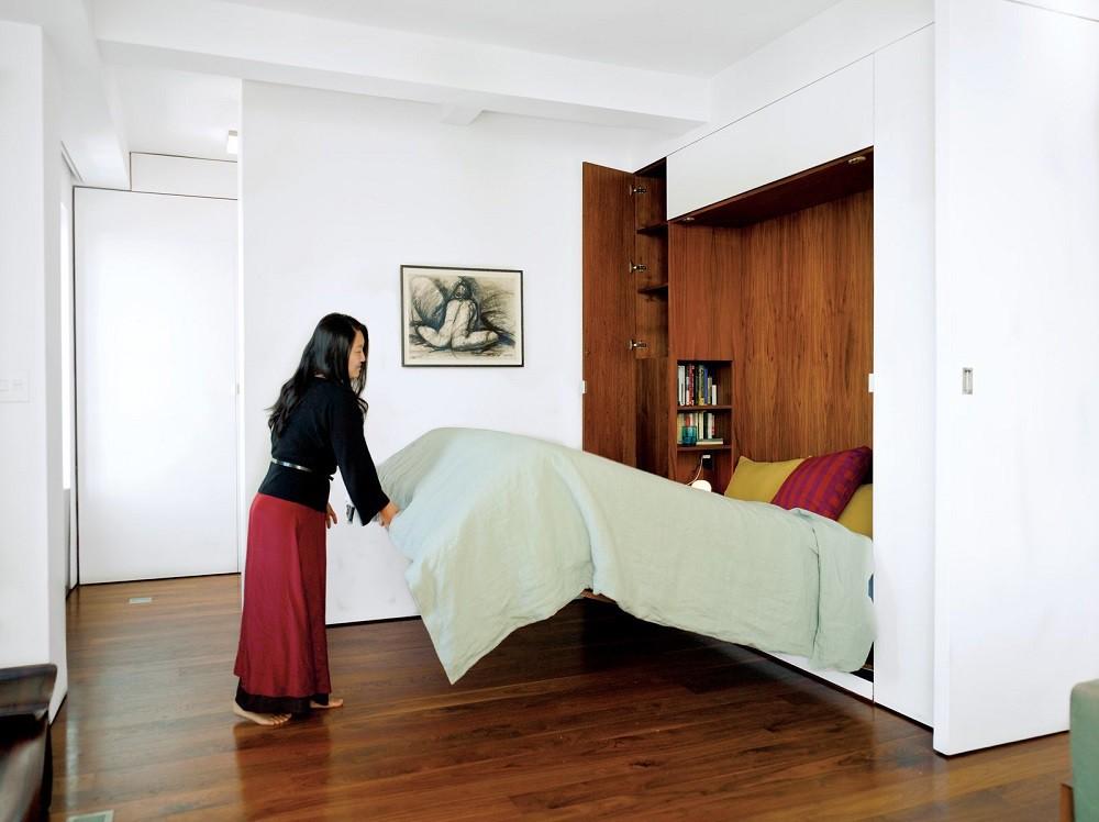 """10 thiết kế phòng ngủ dưới đây sẽ cho bạn thấy dù nhà bạn có chật thế nào, kiến trúc sư vẫn """"xơi tái"""" được hết - Ảnh 6."""