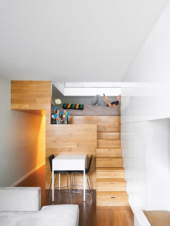 """10 thiết kế phòng ngủ dưới đây sẽ cho bạn thấy dù nhà bạn có chật thế nào, kiến trúc sư vẫn """"xơi tái"""" được hết - Ảnh 8."""