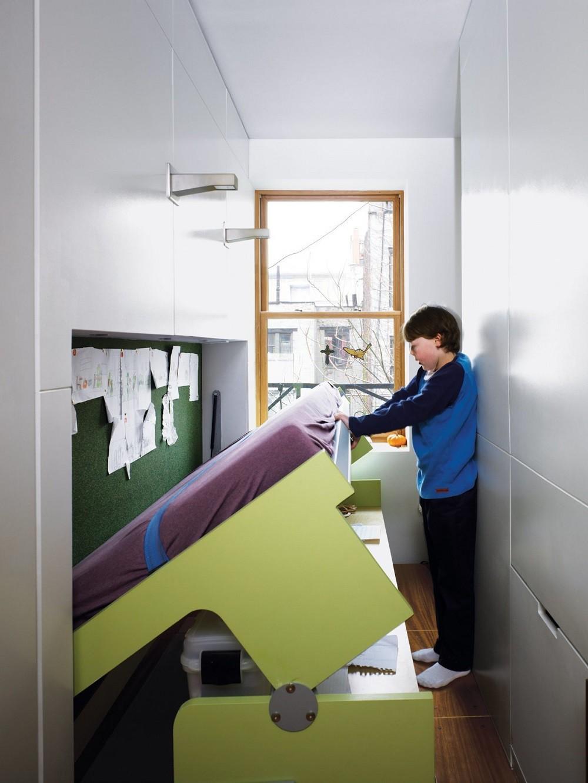 """10 thiết kế phòng ngủ dưới đây sẽ cho bạn thấy dù nhà bạn có chật thế nào, kiến trúc sư vẫn """"xơi tái"""" được hết - Ảnh 9."""