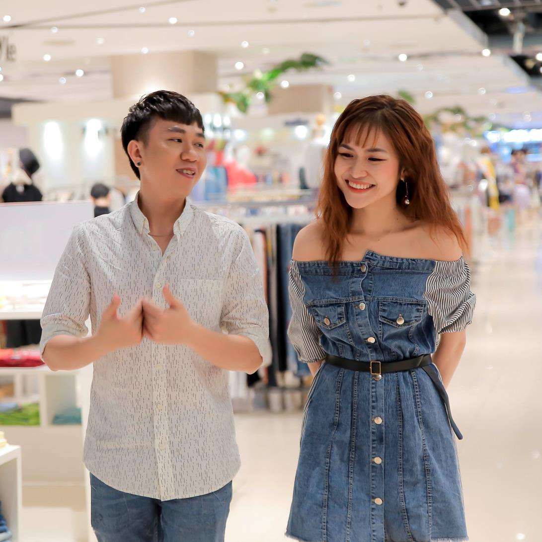 Vừa mới công khai bạn gái, Huỳnh Anh đã vui vẻ đi ăn với người đẹp khác - Ảnh 7.