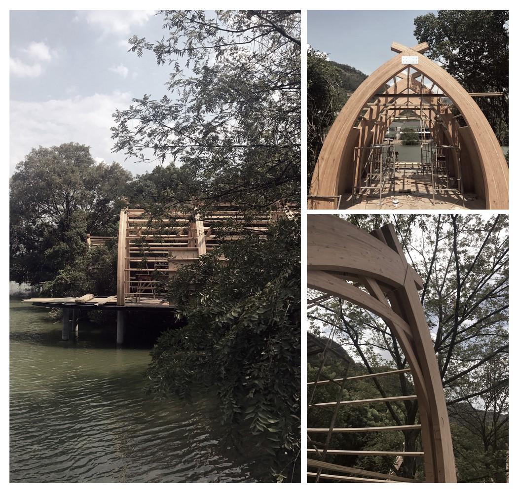 Ngắm ngôi nhà thuyền ven sông đẹp như một bức tranh thủy mặc - Ảnh 11.
