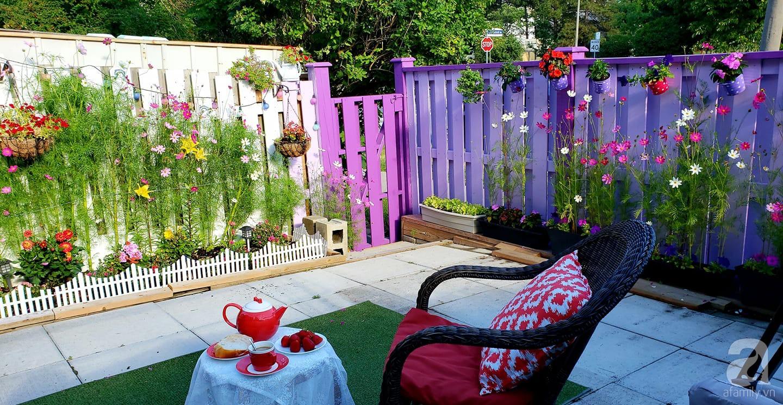 Góc sân vườn chỉ vỏn vẹn 5m² nhưng người phụ nữ quê Đà Lạt đã biến thành nơi thư giãn đẹp bất ngờ - Ảnh 5.