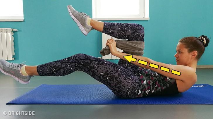 Không cần đến phòng gym, 9 bài tập giảm mỡ bụng sau sinh đơn giản này sẽ giúp các mẹ lấy lại vòng eo mơ ước - Ảnh 8.