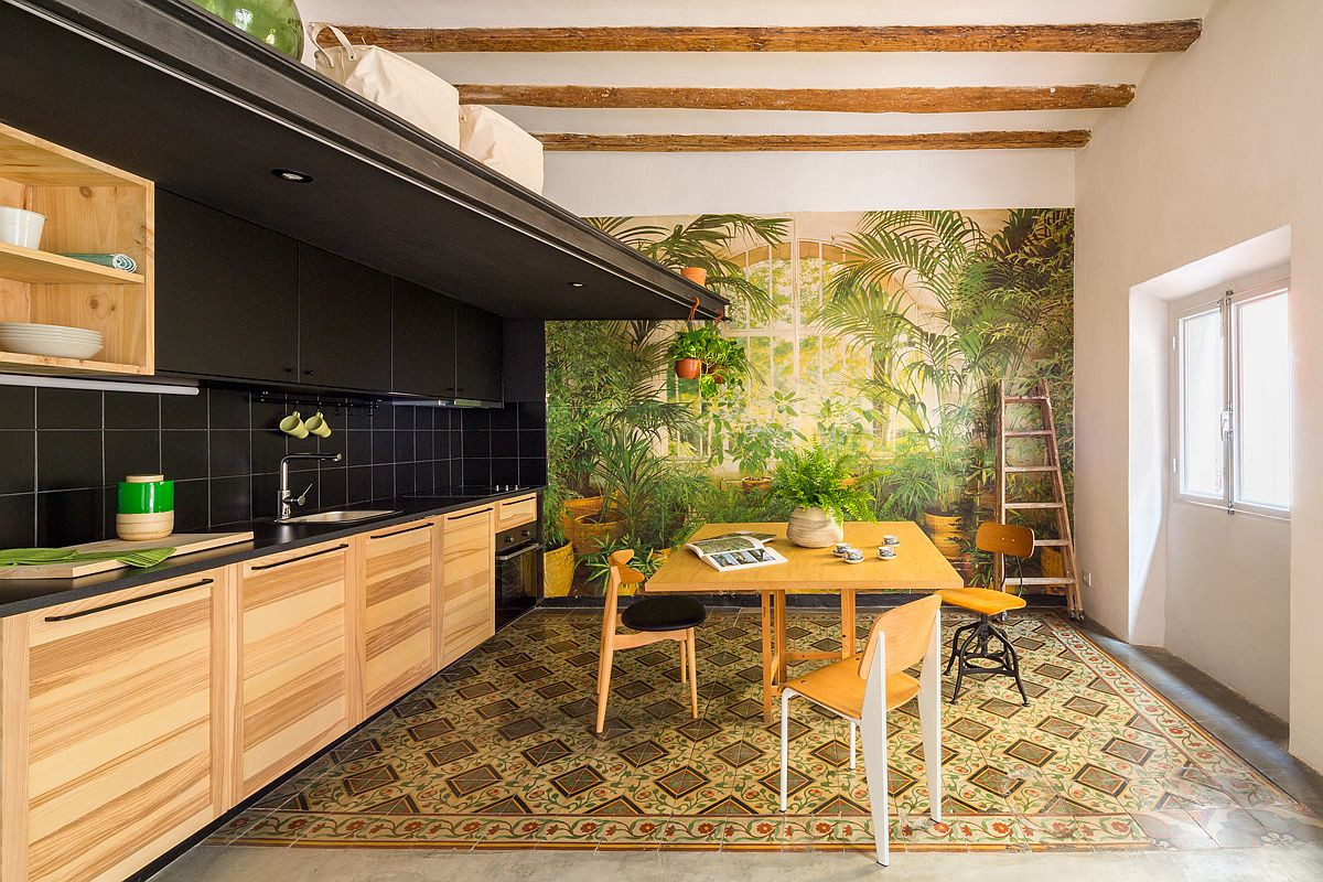 Học tập cách cải tạo căn hộ sáng tạo và sống động này để không gian thêm nhiều khu lưu trữ   - Ảnh 3.