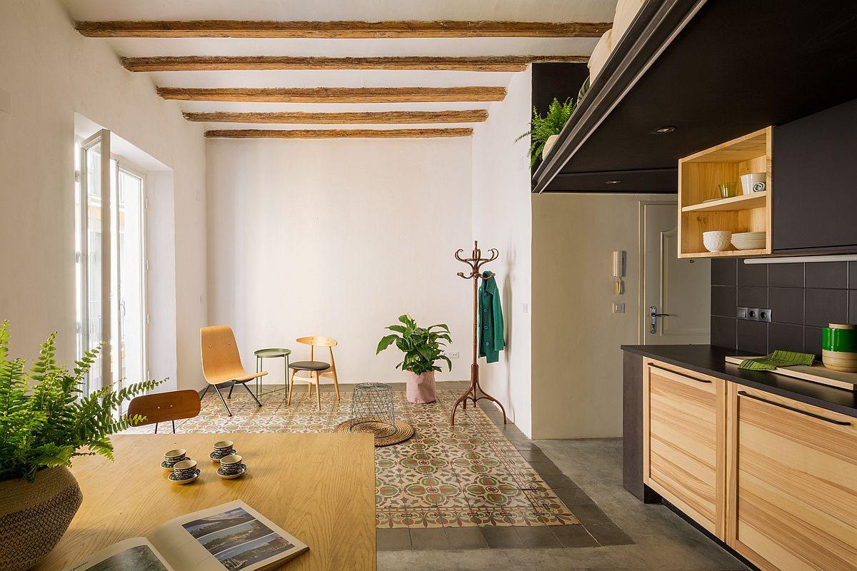 Học tập cách cải tạo căn hộ sáng tạo và sống động này để không gian thêm nhiều khu lưu trữ   - Ảnh 5.
